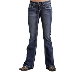 Stetson Western Denim Jeans Womens Classic Royal