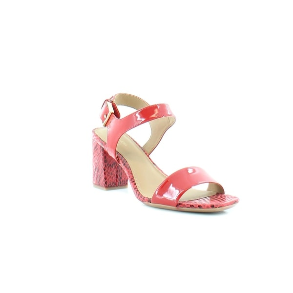 Calvin Klein Cimi Women's Heels Red