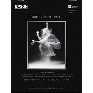 Epson Paper, Exhibition Fiber Paper, 8.5 inch