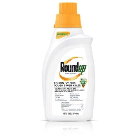 Round Up 5002310 Poison Ivy Plus Tough Brush Killer, 32 Oz - 32 Oz