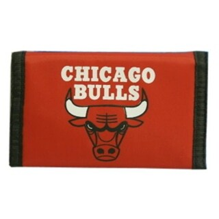Chicago Bulls Nylon Trifold Wallet