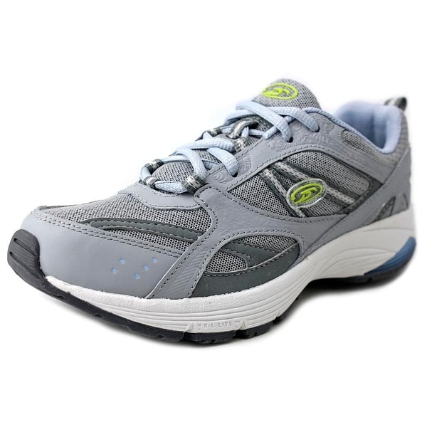 Dr. Scholl's Curry Women Round Toe Leather Gray Sneakers
