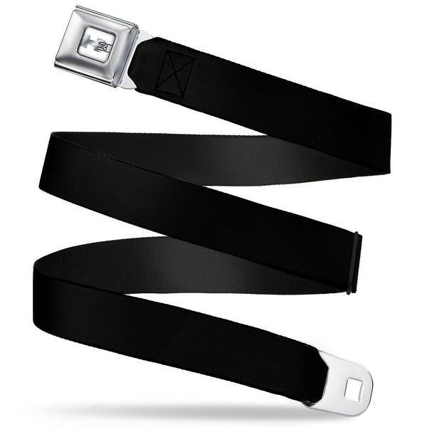 H3 Black Seatbelt Belt Fashion Belt