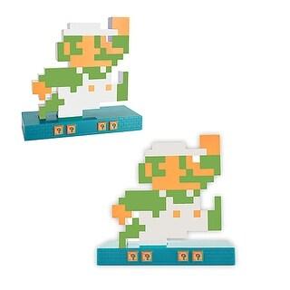 Nintendo Novelty Super Mario Retro Alarm Clock Luigi