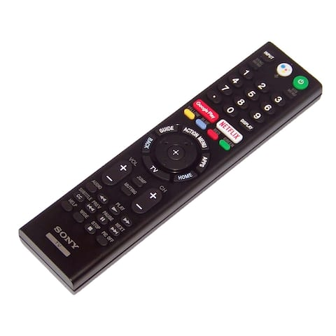 OEM Sony Remote Control Originally Shipped With XBR49X900F, XBR-49X900F
