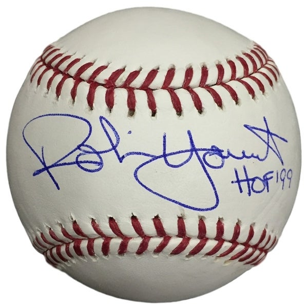 cb224a38534 Shop Robin Yount Brewers Signed MLB Baseball HOF 99 w  Free Ball Cube JSA  ITP - Free Shipping Today - Overstock.com - 14552658