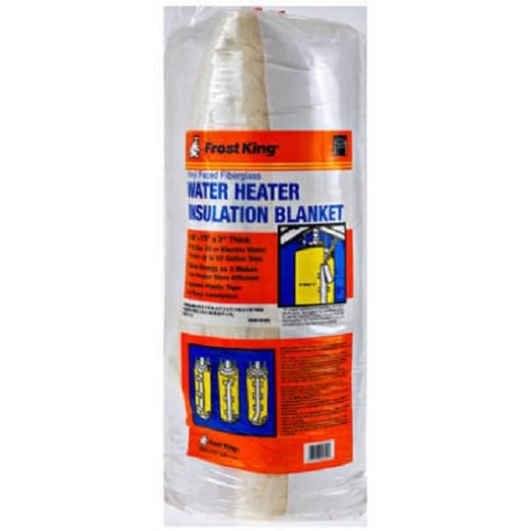 """Frost King SP57-11C Water Heater Insulation Blanket, 3"""" x 48"""" x 75"""""""