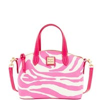 Dooney & Bourke Zebra Brights Ruby Top Handle Bag (Introduced by Dooney & Bourke at $158 in Jan 2016)