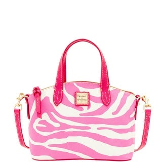 Dooney & Bourke Zebra Brights Ruby (Introduced by Dooney & Bourke at $158 in Jan 2016) - white pink