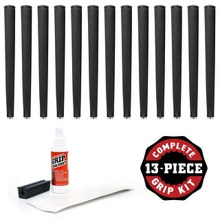 Lamkin Arthritic Grip - 13pc Golf Grip Kit (with tape, solvent, vise clamp)