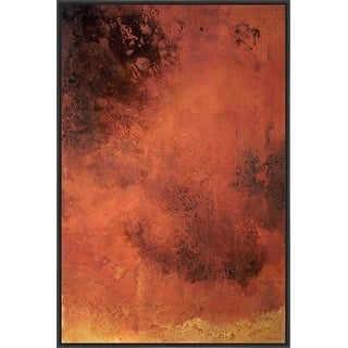 LAVA LAMP 28L X 28H Floater Framed Art Giclee Wrapped Canvas