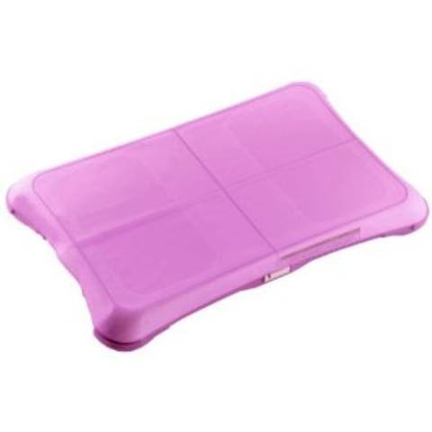 Memorex Wii, Non Slip Protective Cover for Balance Board, Wii Fit- Pink
