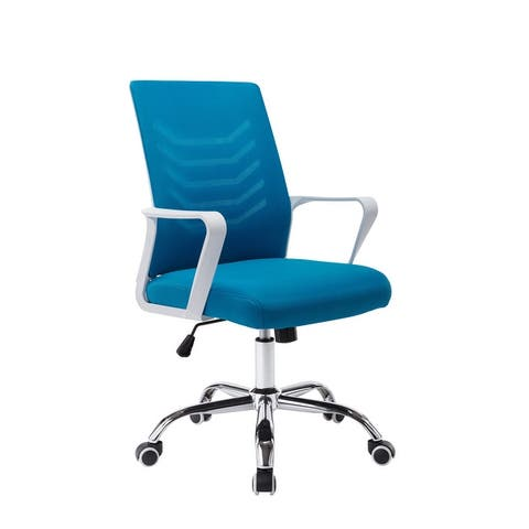 Porthos Home Baez Mesh-back Height-adjustable Swivel Office Chair