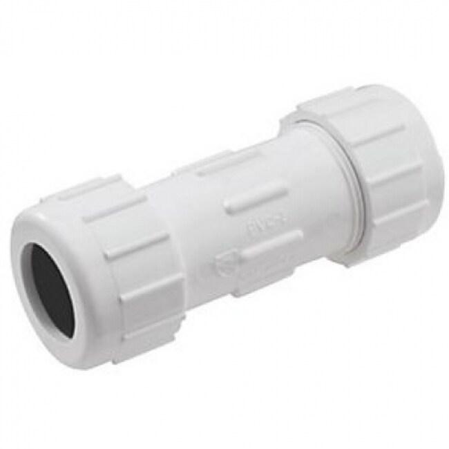 Homewerks 511-43-114-114B PVC Compression Repair Coupling, 1-1/4