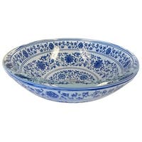 Eden Bath Ming Dynasty Glass Vessel Sink