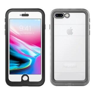 Pelican - Marine Waterproof Case iPhone 8 Plus Black/Clear