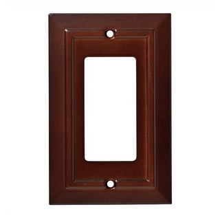 Franklin Brass W35243-C Classic Architecture Single Rocker / GFI Outlet Wall Pla