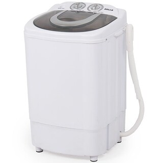 Della Mini Portable Washing Machine & Spin Wash 8.8 Lbs Capacity Compact Laundry Washer for Clothes, Garments
