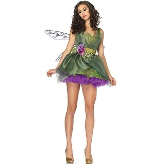 Leg Avenue Woodland Fairy Adult Costume - Green