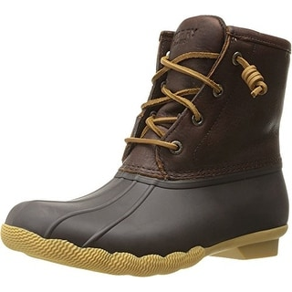 Sperry Top-Sider Women's Saltwater Thinsulate Rain Boot - Brown - 9.5 b(m) us
