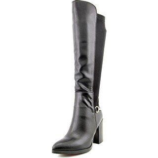 Luichiny Local Legend Women  Pointed Toe Synthetic  Knee High Boot