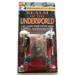 "Realm Of The Underworld 5.75"" Action Figure Battle Accessory Pack - multi"