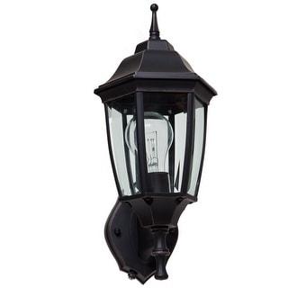 Boston Harbor DTDRB Dusk/Dawn Outdoor Lantern, Brown