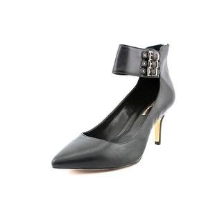 BCBGeneration Opera Women Pointed Toe Leather Black Heels