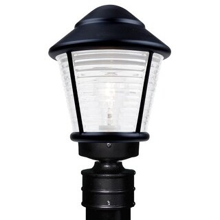 Costaluz 3100-POST-FR 1 Light Incandescent Post Light with Frosted Glass Shade