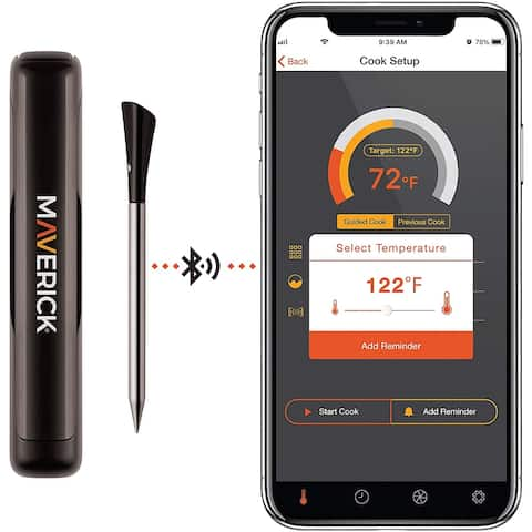 Maverick STAKE Truly Wireless Bluetooth App Enabled Probe Thermometer