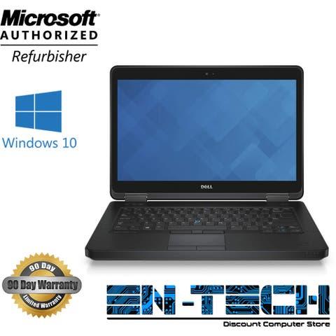 "Dell Latitude E5440 14.0"" Refurb Laptop - Intel Core i5 4300U 4th Gen 1.9 GHz 8GB 480GB SSD DVD-RW Windows 10 Pro - Grade B"