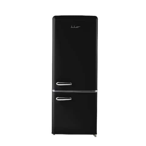 iio 7 Cu. Ft. Retro Refrigerator with Bottom Freezer