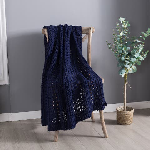 Country Living Hand Crochet Throw