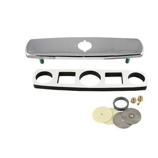 "Sloan ETF-510-A Trim Plate for 8"" (203 mm) Centerset Sink"