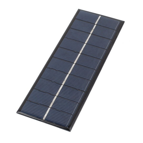 5V 1.3W DIY Polycrystallinesilicon Solar Panel Power Battery Charger 163mmx60mm