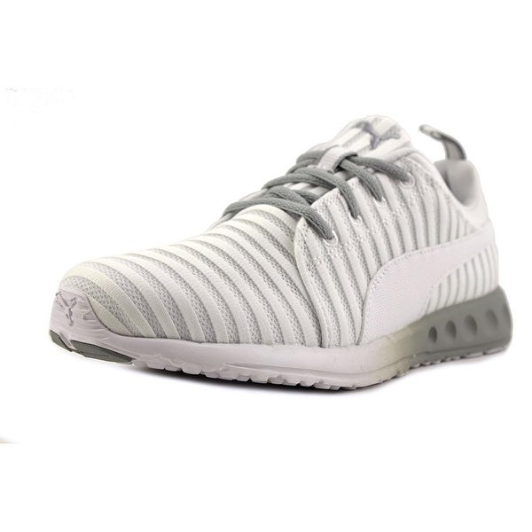 Puma Carson Linear Women Round Toe Synthetic White Running Shoe