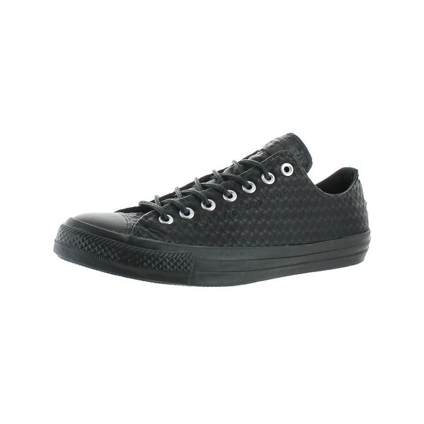Converse Mens Chuck Taylor All Star Craft Leather Ox Skate Shoes Faux Leather