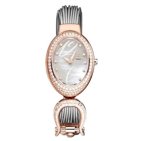 Charriol women's 'marie olga' swiss quartz watch mopd1.570.016