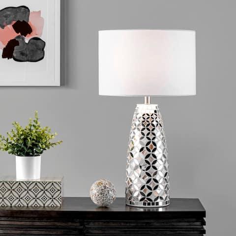 "nuLOOM Bandol 27"" Metal Table Lamp - 15""W x 15""D x 27""H"