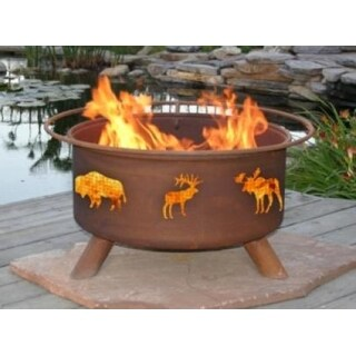 Patina Products F106 Wildlife Fire Pit - Bronze