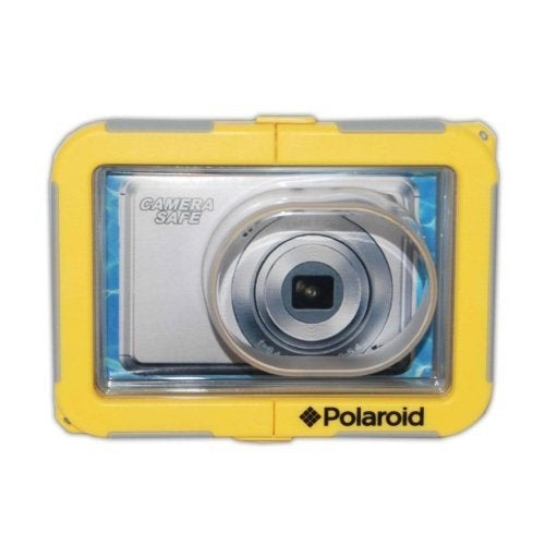 Polaroid Dive-Rated Waterproof Camera Housing - Protects Any Compact Lens Camera