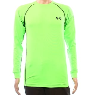 Under Armour NEW Green Neon Mens Size Small S Active Shirts & Tops