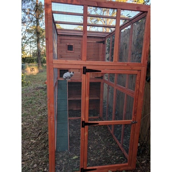 Top Product Reviews For Trixie Wooden Outdoor Cat Run 10276901