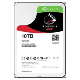 Seagate ST10000VN0004 10Tb Ironwolf Sata 7200 Rpm 3.5 in. 256MB