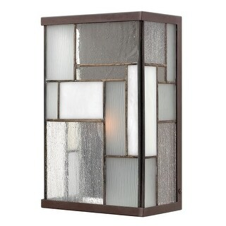 "Hinkley Lighting 2150 11"" Height 1 Light ADA Compliant Outdoor Wall Sconce from the Mondrian Collection"