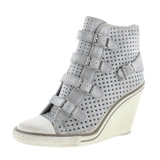 ASH Womens Thelma Star Leather Laser Cut Fashion Sneakers