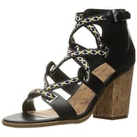 Indigo Rd. Womens Papo Leather Open Toe Casual Strappy Sandals