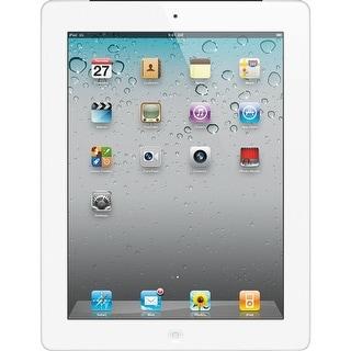 """Apple Ipad 2 with Wi-Fi 9.7"""" - 16GB - Black - White (Refurbished)"""
