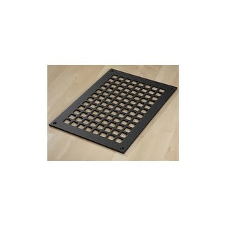 "Reggio Registers G1014-SNH Grid Series 12"" x 8"" Floor Grille without Mounting Ho - N/A"