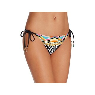 Trina Turk Womens Brasilia Printed Side Tie Swim Bottom Separates